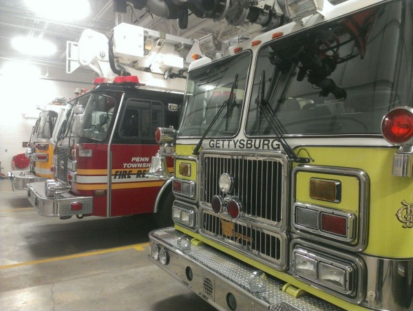 On Monday, January 18th, Truck 49 stood-by at Adams County FS 1 (Gettysburg) while they operated at a working barn fire. Truck 49 covered the area for ...