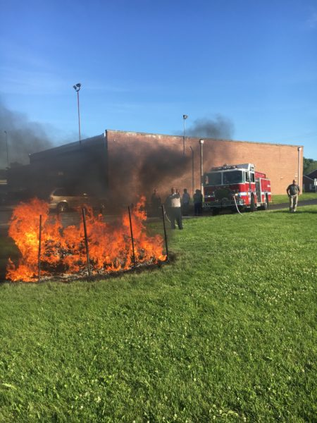 official flag burning ceremony iaff 2045